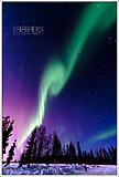 阿拉斯加极光之旅:极光大爆发 @ 费尔班克斯(Fairbanks)