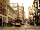 加州阳光不灵光@旧金山‧从「叮叮车」到「复古电车」