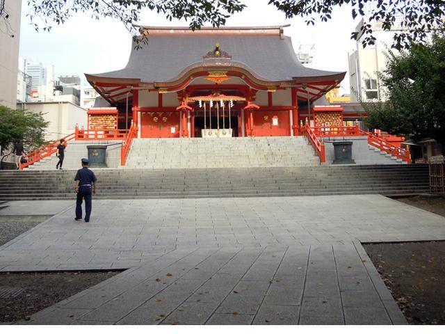 花園神社 - 背包地圖