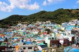 韩国釜山--有著釜山圣托里尼.马丘比丘之称的甘川洞文化村