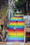 伊斯坦堡。彩虹樓梯背後的故事
