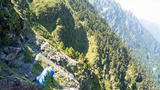 黑色奇莱 卡楼罗断崖 能高主峰 台湾高山美景