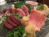 松本的生馬肉料理