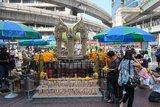 泰國信仰簡談,曼谷街邊的四面佛