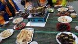川藏邊境,人間畫布九寨溝黃龍,上天賜予的美景,藏民家園西藏餐