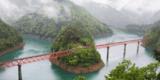 靜岡大井川鐵道賞楓之旅(上)--奧大井湖&接岨峽溫泉